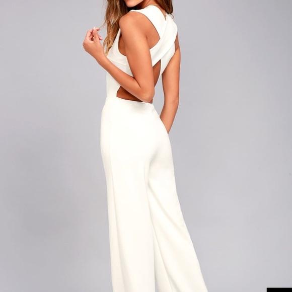0a48dafa02f Lulus white jumpsuit